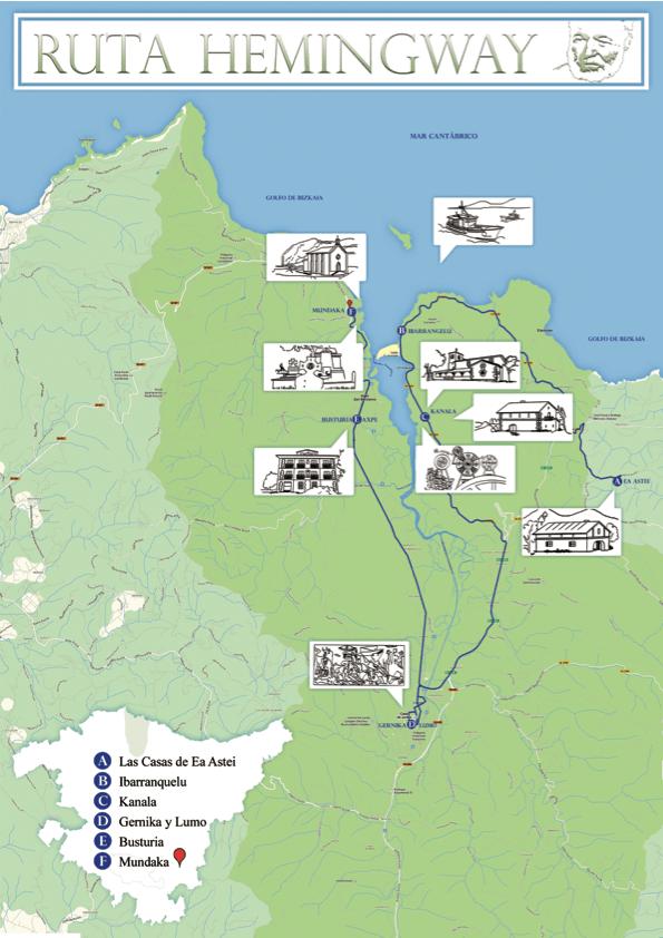 Ruta Hemingway - kanala